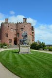 Powis Castle. First built in 1200, and remodelled for over 400 years Stock Photography