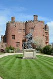 Powis castle. First built in 1200 and remodelled for over 400 years Stock Photography
