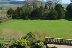 Powis castle garden. In the spring Royalty Free Stock Photos