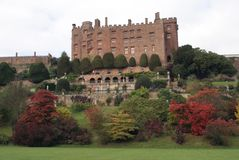 Powis Castle and Garden in Welshpool, Powys, Wales, England, Europe Royalty Free Stock Photography