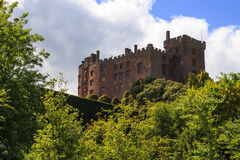 Powis Castle. Viewed from the lower garden royalty free stock photography