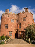 Stately Home and Castle in Wales Royalty Free Stock Photo