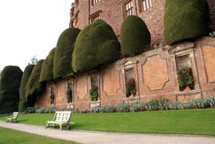 Powis Castle in Welshpool, Powys, Wales, England, Europe Stock Image