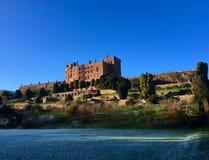 Powis-Schloss, Großbritannien Lizenzfreie Stockbilder