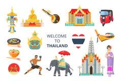 powitać thailand Tradycje i kultura Tajlandia ilustracji