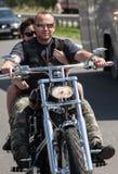 Powitalna ceremonia MUZYCZNY rower UKRAINA Obraz Stock