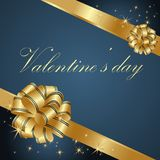 powitania karciany valentine s Zdjęcia Royalty Free