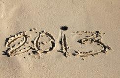 Powitanie 2013 zdjęcie royalty free