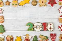 Powitanie 2018 Obrazy Royalty Free
