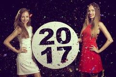 Powitanie 2017 Obraz Stock