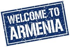 powitanie Armenia znaczek Zdjęcie Stock