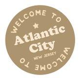 Powitanie Atlantycki miasto Nowy - bydło ilustracji