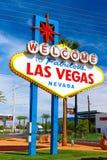 Powitanie Bajecznie Las Vegas znak Zdjęcie Stock