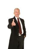 powitanie biznesowy mężczyzna Zdjęcie Royalty Free