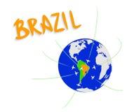 Powitanie Brazylia Zdjęcia Stock