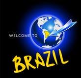 Powitanie Brazylia Obraz Stock