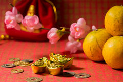 powitanie chiński nowy rok Obraz Royalty Free