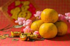 powitanie chiński nowy rok Fotografia Royalty Free