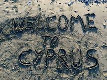 Powitanie Cypr Zdjęcie Royalty Free