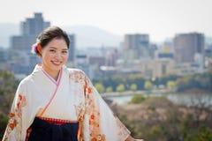 Powitanie Fukuoka, Japonia Fotografia Royalty Free