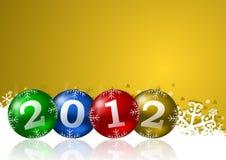 powitanie karciani nowy rok Fotografia Stock