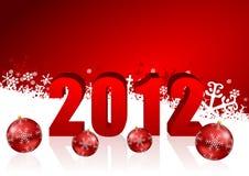 powitanie karciani nowy rok Zdjęcie Royalty Free