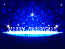Powitanie kartka bożonarodzeniowa 2014. ilustracja wektor