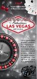 Powitanie Las Vegas ulotka Fotografia Royalty Free