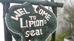 Powitanie Lepton ` s siedzenie sri lanka zdjęcie stock