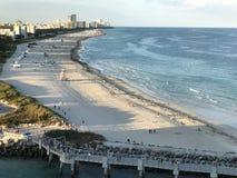 Powitanie Miami plaża zdjęcia royalty free