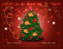 powitanie nowy rok Zdjęcie Royalty Free