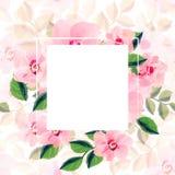 Powitanie obrazek dla MMS obrazka sztandaru wiosny kwitnie dla dnia eighth Marzec Zdjęcie Stock