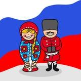 Powitanie Rosja ludzie Zdjęcia Royalty Free