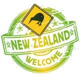 Powitanie w Nowa Zelandia ilustracji