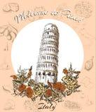 Powitanie Włochy Fotografia Stock