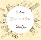 Powitanie Włochy Zdjęcie Royalty Free