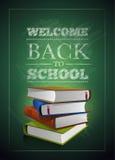 Powitanie z powrotem szkoła ilustracja wektor