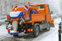 Powlekaczki ciężarówka fotografia royalty free