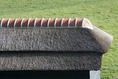 powlekane strzechą dach Zdjęcia Stock