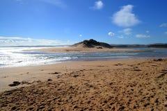 River ocean & sandunes Stock Images
