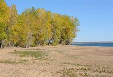 Powodować suszarniczy Kolorado jezioro up obrazy stock