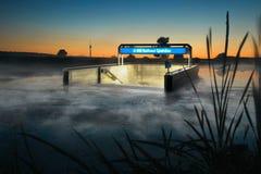 powodzi metro Fotografia Royalty Free