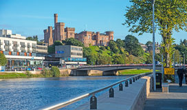 Powodzi obrony ściana przy Inverness Obrazy Royalty Free