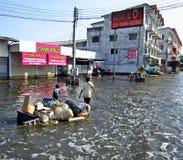 powodzi utrzymanie fotografia stock