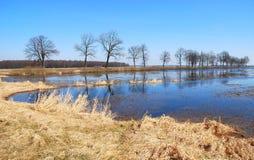 powodzi wiosna Zdjęcie Stock