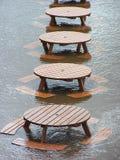powodzie Obraz Stock