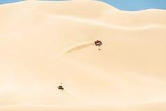 Powozik w pustyni Zdjęcia Stock