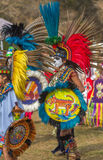 PowPow-Kleid des amerikanischen Ureinwohners Lizenzfreies Stockbild