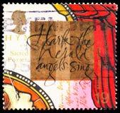 Powraca zwiastun i hymn książkowy John Wesley, milenium serie 11 - chrześcijanin bajki seria około 1999, aniołowie śpiewaj obraz royalty free