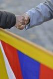 10 powstania Marcowy dzień 2017 w Tybet, Bern Szwajcaria Fotografia Royalty Free